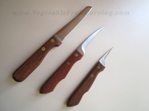 Vegetable and Fruit Carving Knife Set